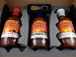 BBQ Sauce Gift Sets With A Fiery Kick