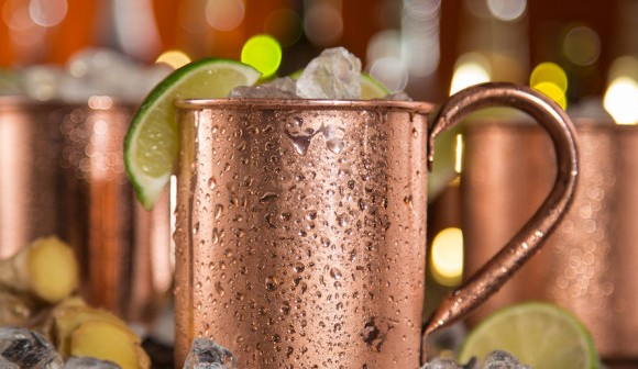 Spicy Moscow Mule