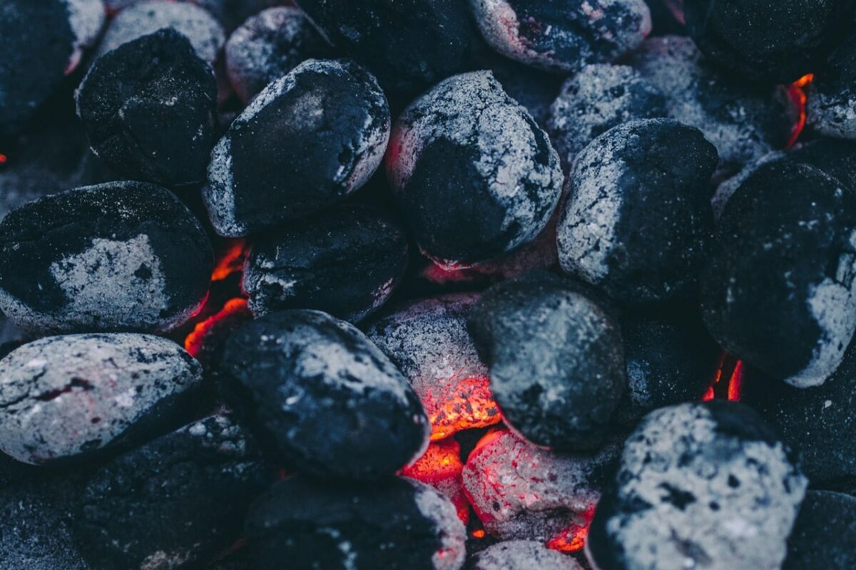 how much charcoal to use