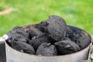 types of charcoal