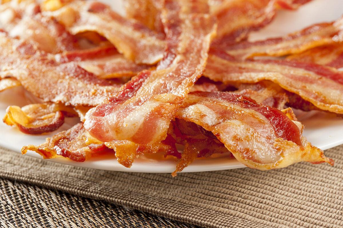 turkey bacon vs pork bacon