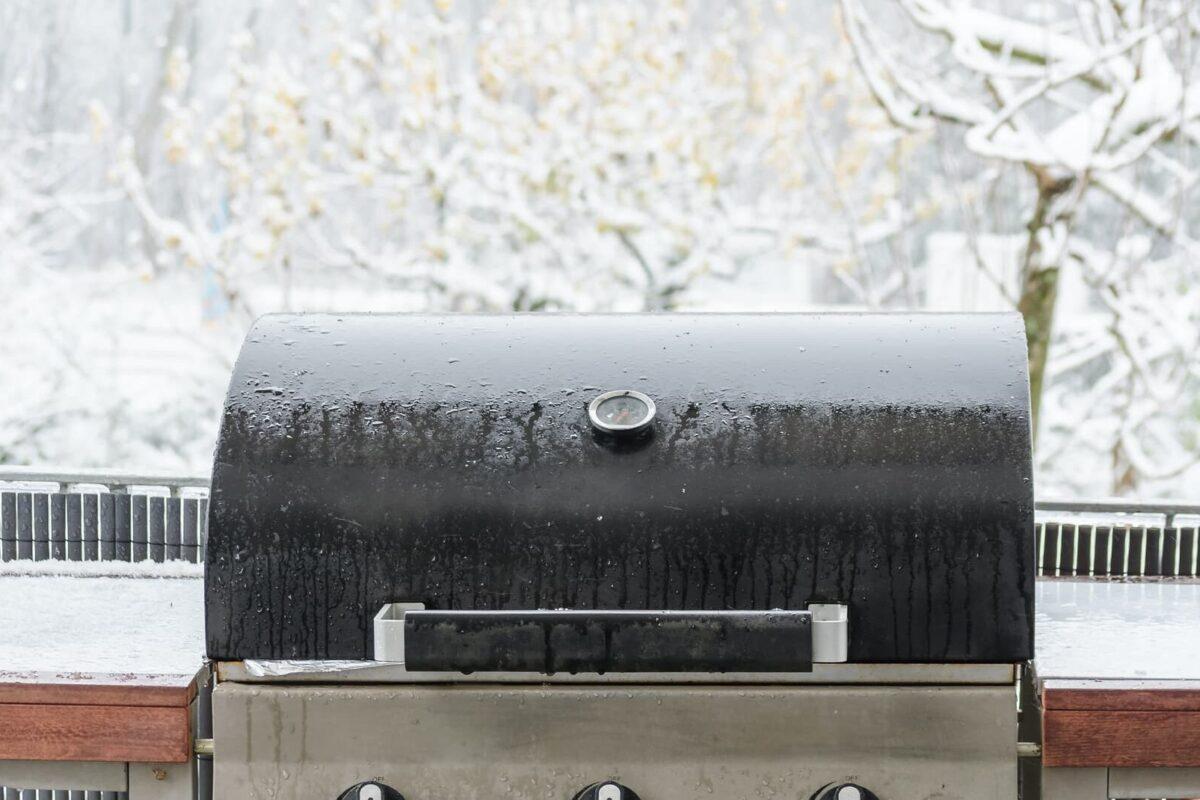 BBQ in winter