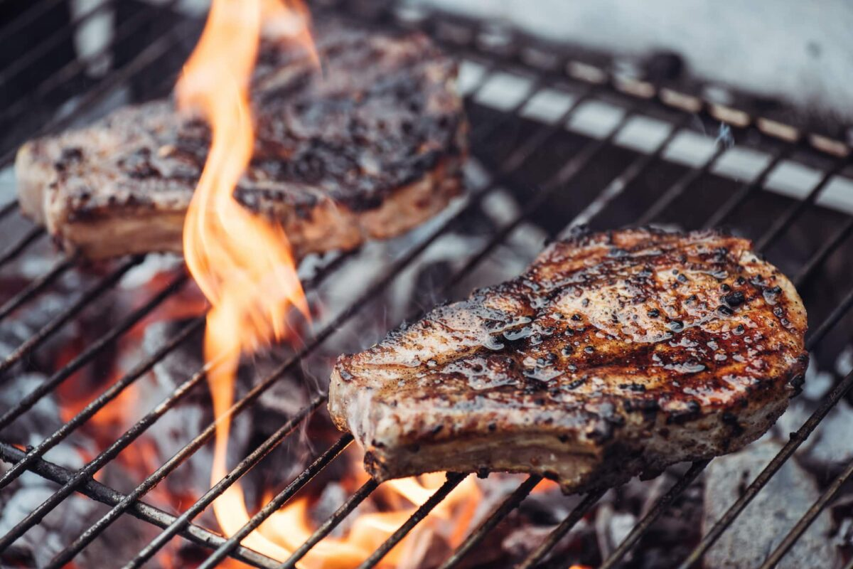 Stop Food Sticking to Grill Grates