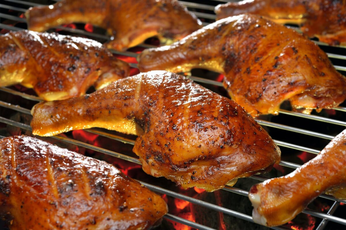 What goes well with bbq chicken