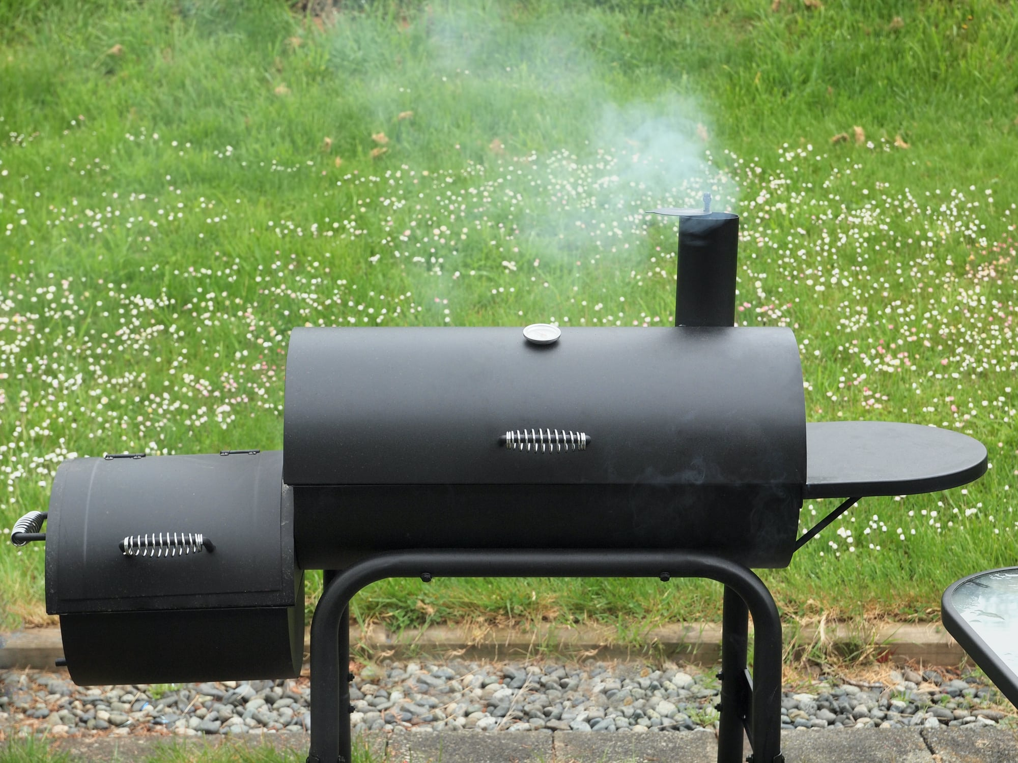 What is an offset smoker?